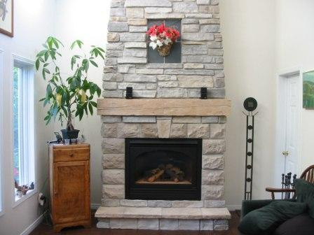 Regular fireplace