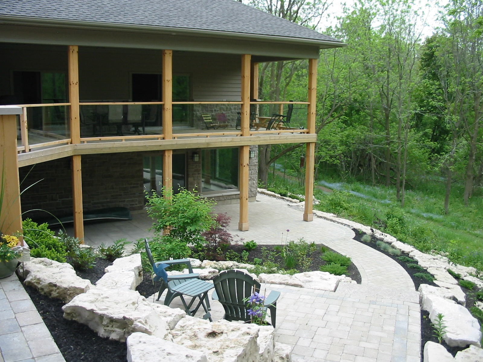 Upperview patio