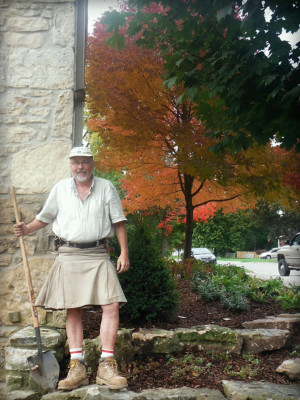 Landscaping Architect Robin Aggus has Celtic flair